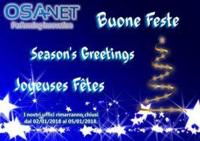 OSAnet Augura Buona Feste